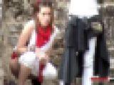 ヨーロッパの音楽祭で放尿している女の子をスパイ54HD720p